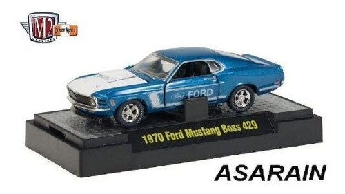 m2 mustang boss 429 2010 diecast space limited edition 1/64