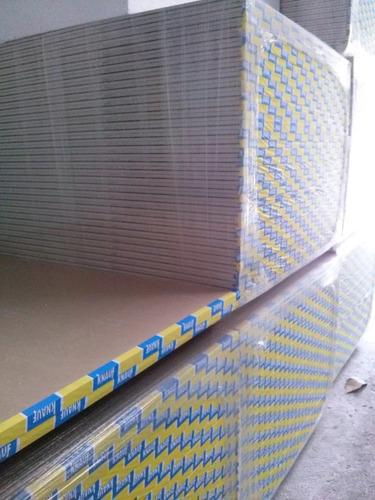 m2 placa de yeso 1.20x2.40 estandar cielorraso revestimiento