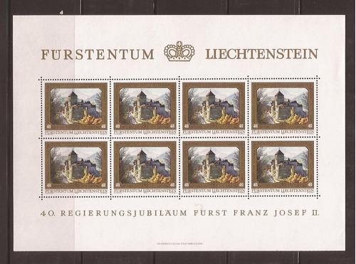 m259-liechtenstein pinturas franz josef ii 4 mini-folhas