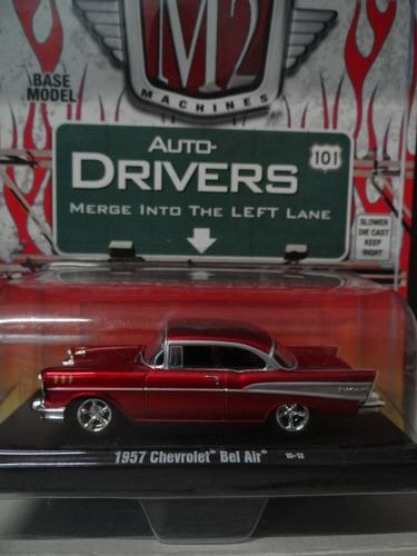 m2m auto-drivers - 1957 chevrolet bel air