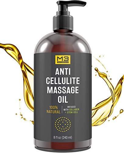 m3 naturals contra el aceite de masaje celulitis impregnada