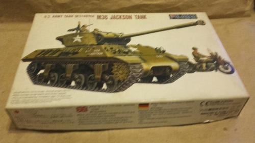 m36 jackson tanque a esc. 1/72 fujimi