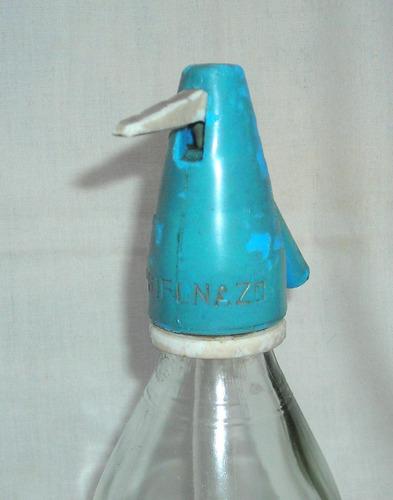 m38 antigua botella sifon marca sifonazo oso polar s.a.