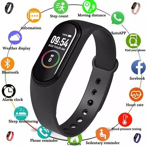 m4 smart band fitband presión arterial ritmo cardiaco