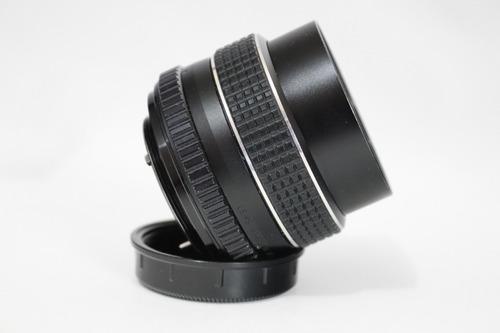 m42 smc takumar  55 mm f2  objetiva lente canon pentax