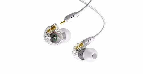 m6pro fone ponto monitor retorno de ouvido mee audio branco