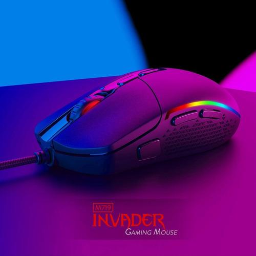m719-rgb - mouse gamer redragon invader rgb