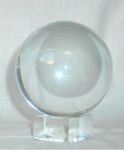 m83 /3 bola de cristal para adivinacion 10 cm transparente
