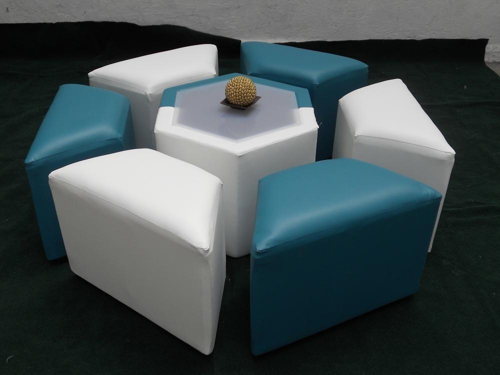 Maa sala lounge p 6 personas hexagonal al mejor precio for Sofas al mejor precio