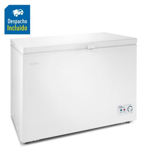 mabe congelador horizontal 320lt blanco alaska300b2  ac acu