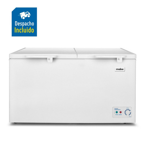 mabe congelador horizontal 520lt blanco alaska520b2  ac acu