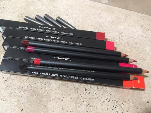 mac 2x1 lapis crayon perfilador de labios 100 %original
