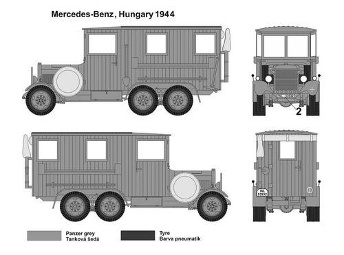 mac distribución 1/72 segunda guerra ii camionetas alemán kf