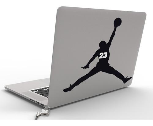 mac macbook sticker laptop calcomania michael jordan basquet