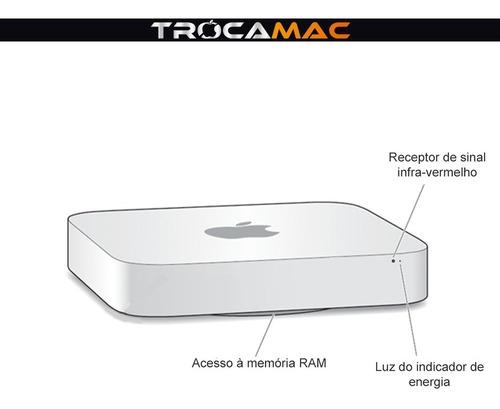 mac mini i5 2.3ghz 8gb 128gb ssd mc815ll/a recertificado nfe