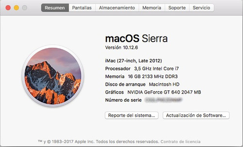 mac os high sierra 10.13 en tu pc openmac o apple intel