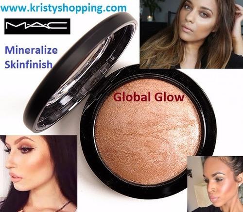 mac polvo mineralizado skinfinish global glow