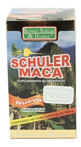 maca 60 cápsulas (5 piezas) schmidt schuler & herrick