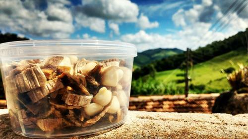 maca nana bananas & macadâmias dry 250ml #frutashugreen