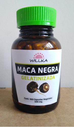 maca negra willka en capsula
