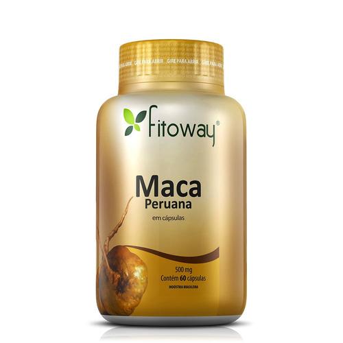maca peruana fitoway 500mg - 60 caps