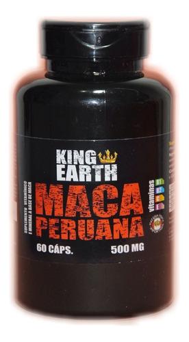 maca peruana original 60 cápsulas 500mg
