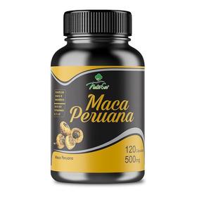 Maca Peruana Pura - Legítima 500mg 120 Cap 100% Natural