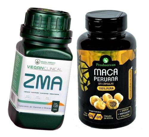 maca peruana pura + zma suplemento mais energia promoção