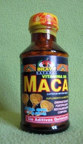 maca -vita-maca natural - marca incavit