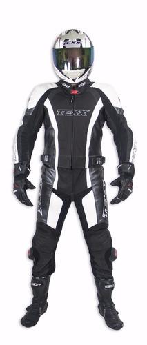macacao esportivo moto em couro texx ghost