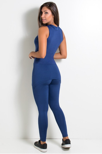 macacao feminino preto longo inteiro fechado fitness roupas
