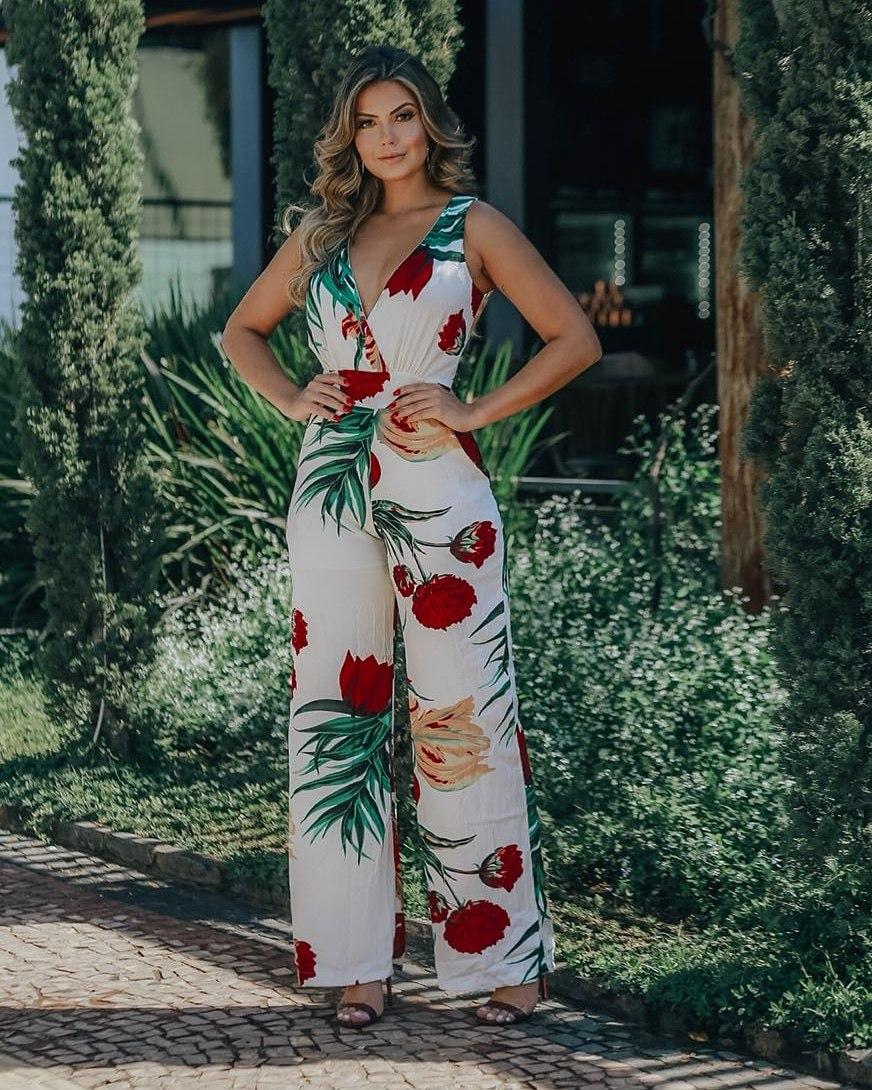Macacao Floral - R  180,00 em Mercado Livre c5b0e55b92