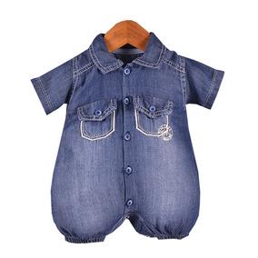 98e9900808358e Macacao Jeans Comprido Masculino - Roupas de Bebê no Mercado Livre ...