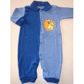 8cc84c4aff Macacao Bebé Atacado Unissex - Roupas de Bebê Azul no Mercado Livre ...
