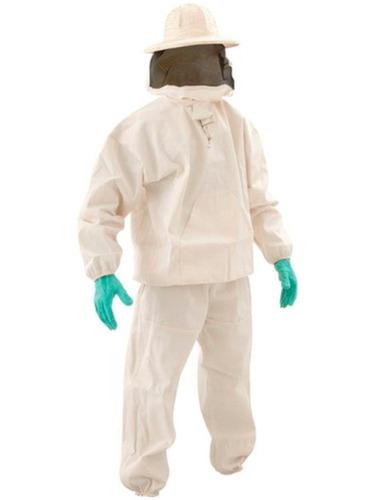 macacao roupa apicultor tirar abelha algodao mascara e luvas