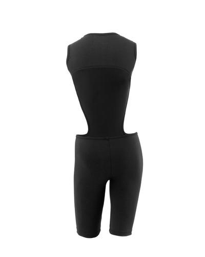 macacão 90 frente única suplex body fitness feminino preto