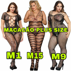 2762806eaba Tule Arrastão Plus Size - Calçados, Roupas e Bolsas com o Melhores Preços  no Mercado Livre Brasil