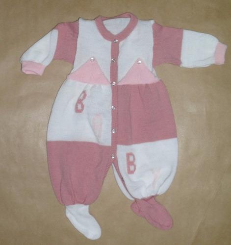 macacão bebê gorro luva maternidade lã de inverno vest fácil