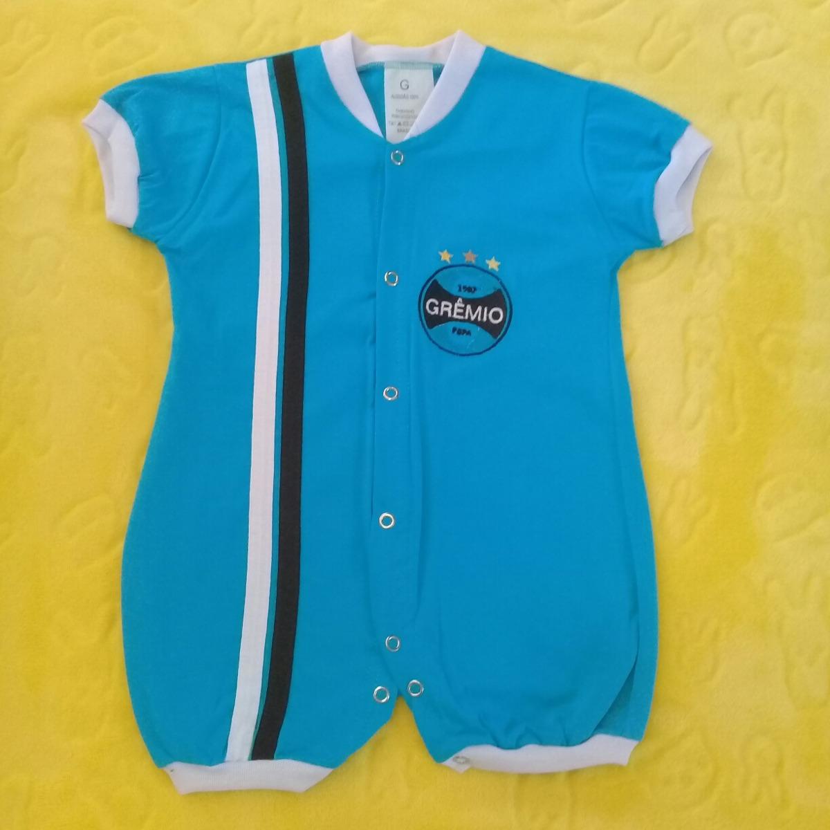 38393a42b7 macacão bebê grêmio p. Carregando zoom.