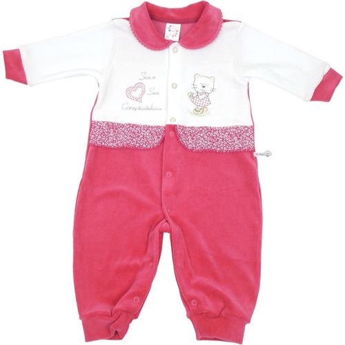 macacão bebê manga longa