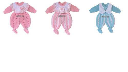macacão bebê rn cores  menino menina maternidade reborn