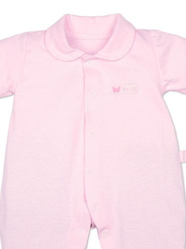 macacão bela fase longa em malha rosa