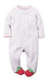 macacão carters - meninos meninas - carter's bebê-importado