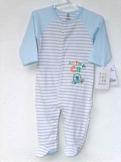 macacão carter's  pinguino  fleece roupa de bebe