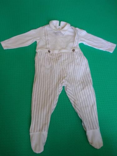 macacão chicco para bebê de 9 meses ( usado)