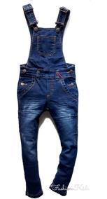 ca1ddff48ae292 Macacao Jeans Comprido Infantil - Calçados, Roupas e Bolsas com o ...