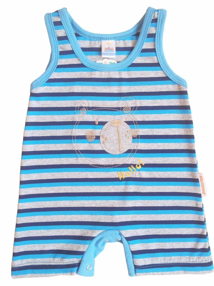 c6c7a397c macacão curto banho de sol roupa bebe menino verão natal. Carregando zoom.