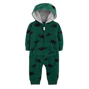 b90f08326 Macacão Em Fleece Com Capuz - Dinossauros - Carter´s
