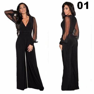 cc93d84962 Macacão Feminino Pantalona Longo Para Festas Lindos Modelos - R  149 ...