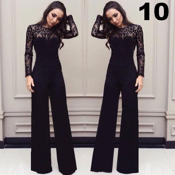 3e84fb686 Macacão Feminino Pantalona Longo Para Festas Lindos Modelos - R$ 149 ...